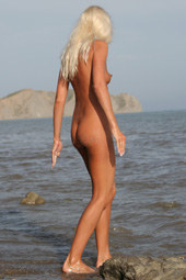 Blonde naturist