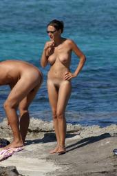 Hairy pussy beach nudists