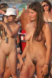 Neptun holliday nudists celebration