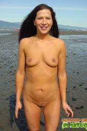 Nude beach naturist